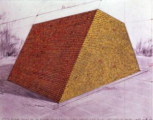 Otterlo Mastaba drawing 1973