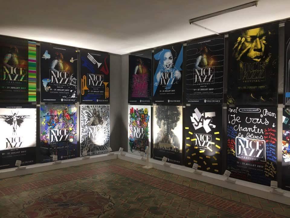 Affiches Pour Le Nice Jazz Festival, Vue D'ensemble