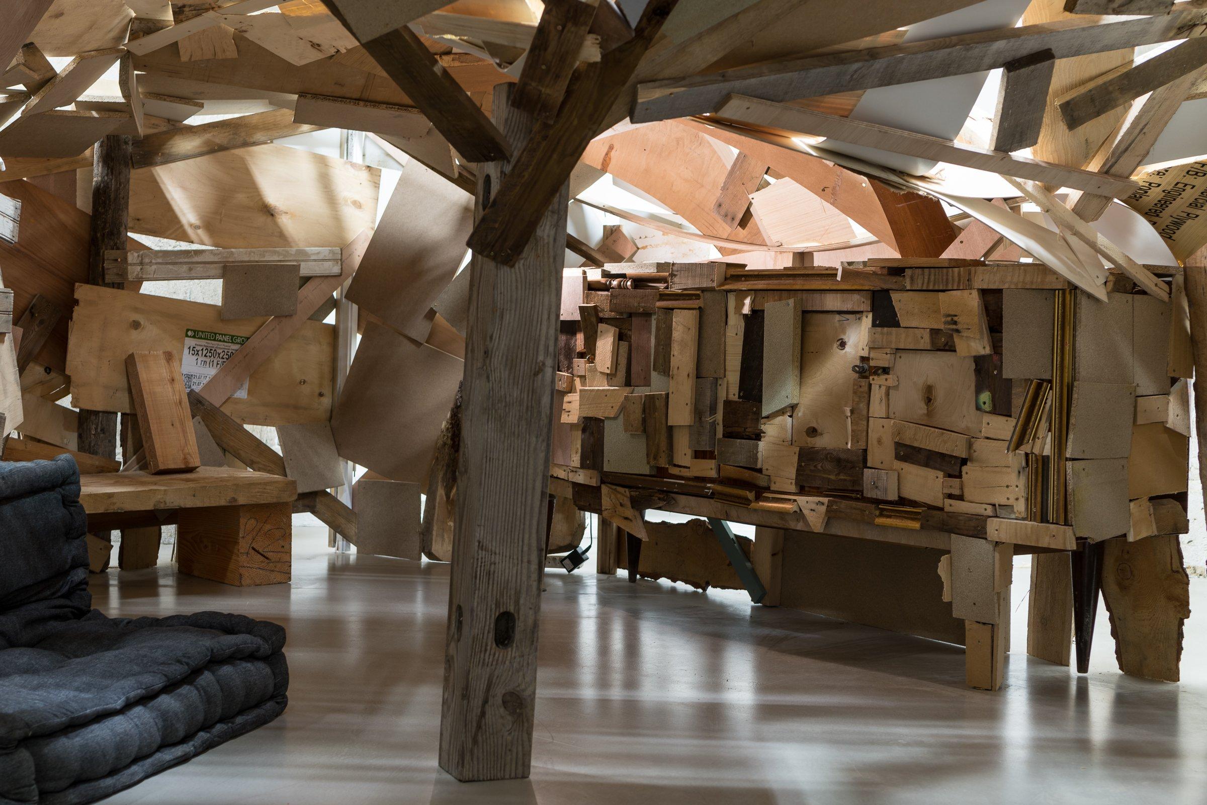 "Tatiana Wolska, ""Habitat Potentiel Pour Une Artiste"""