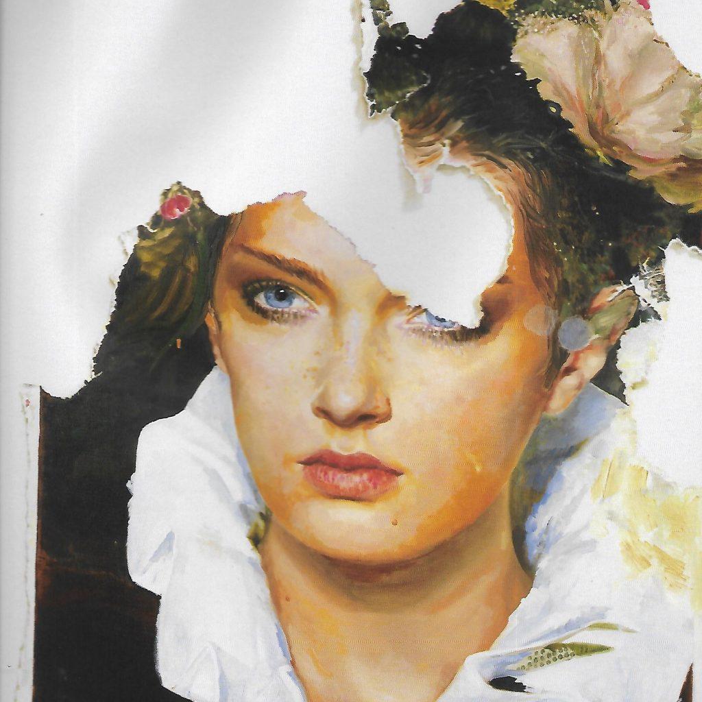 "Ida Tursic « The Girl Portrait Eaten By The Mousse (Luciano Romano)"", 2018,  Alfonso Artiaco : Alfonsoartiaco.com"