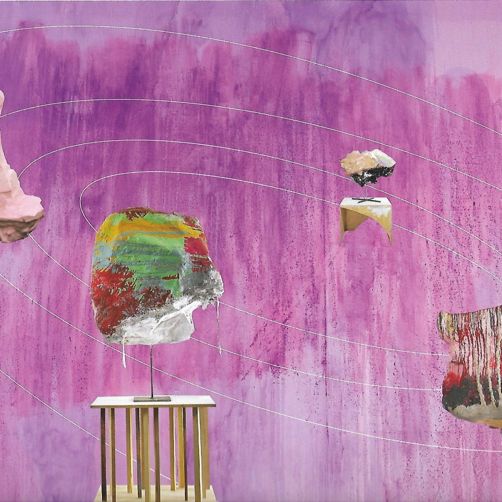 Franz West/ Thu Van Tran  « Mise En Orbite Des œuvres De F De Thu Van Tran », 2005-2018, Natalie Seroussi : Natalieseroussi.com