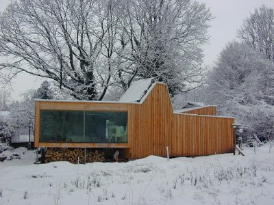 G. Studio : Mic House, Hultehouse, France, 2006. Architecte(s) : G. Studio © Michaël Osswald