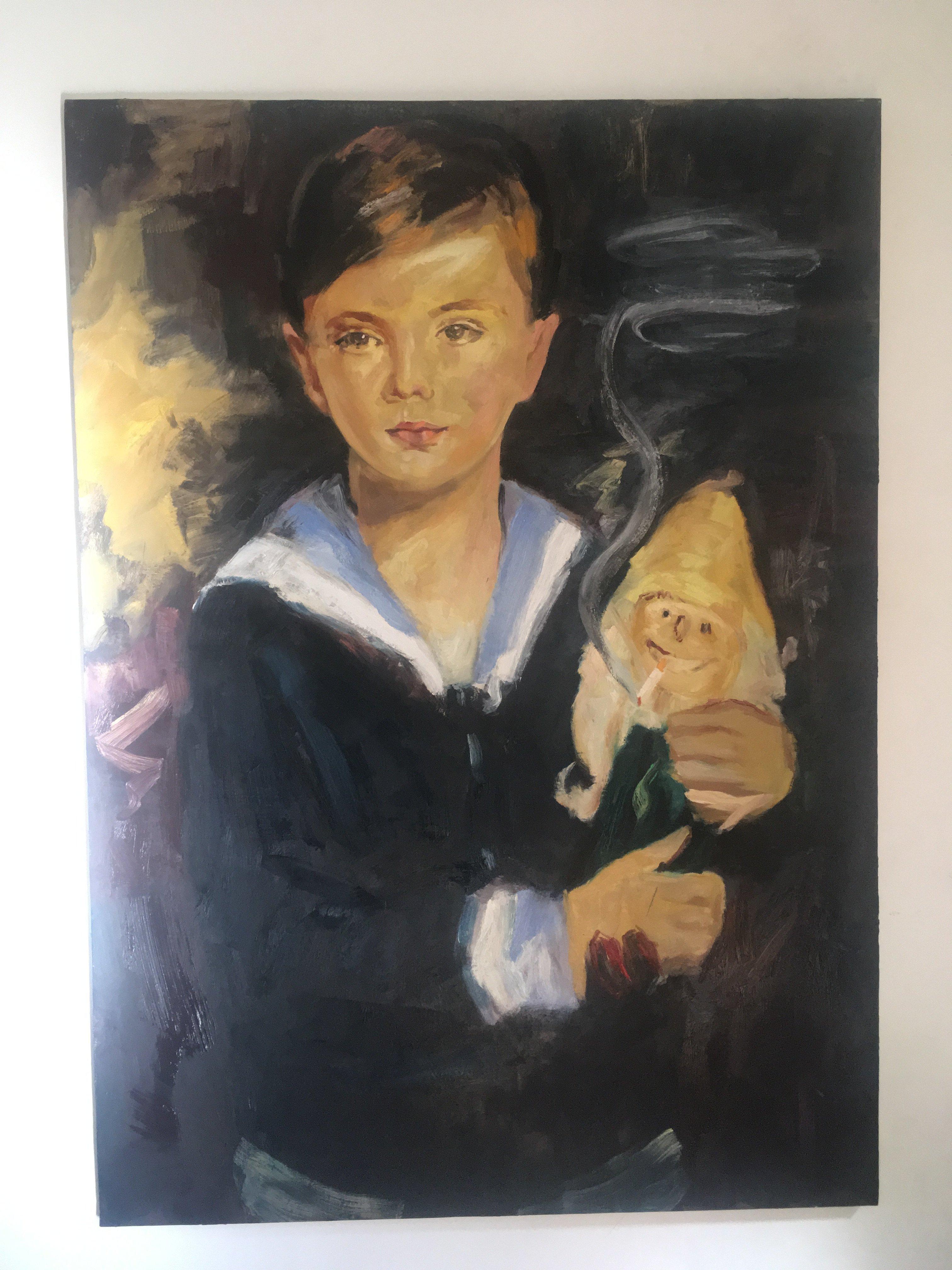 Adieu Les Petits Clopeurs! Gilles Miquelis, Portrait.
