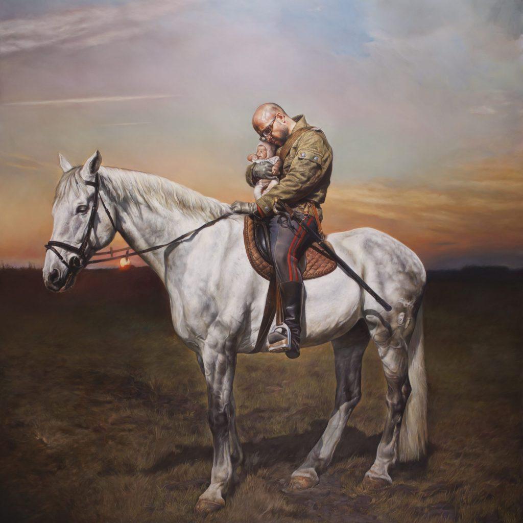"""Axel Pahlavi, """"Peindre Dans Tes Yeux"""", 2016"""