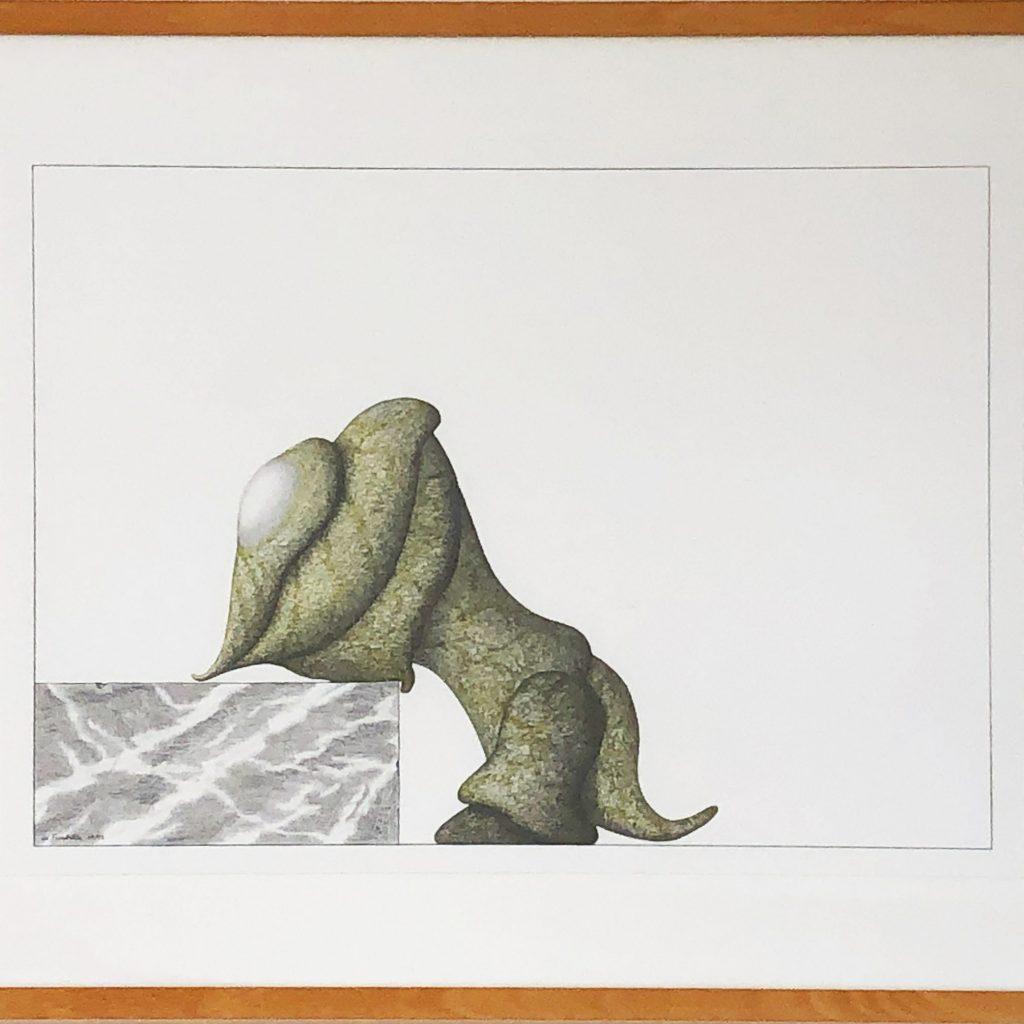 "Alain De Fombelle,  ""L'escalade"", 1993"