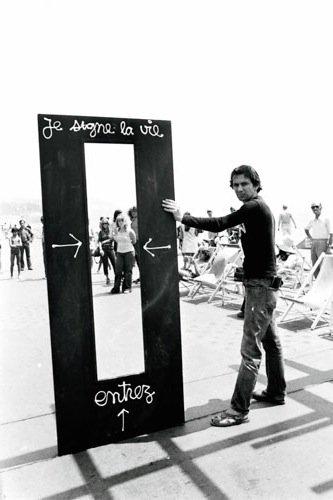 """Ben Vautier, """"Je Signe La Vie"""", 1962"""