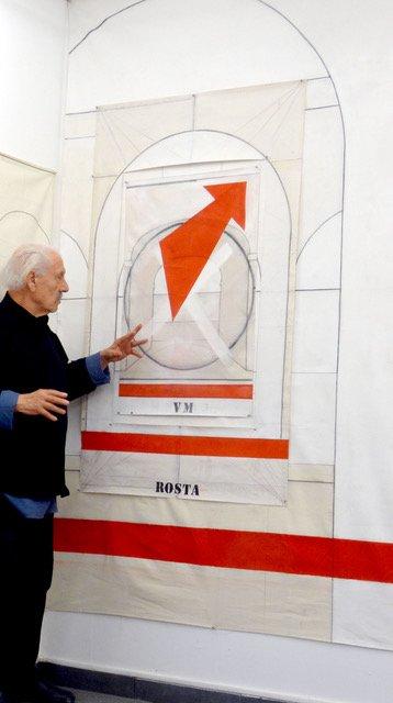 """Gilbert Pedinielli, """"Mon Panthéon"""", 2016"""
