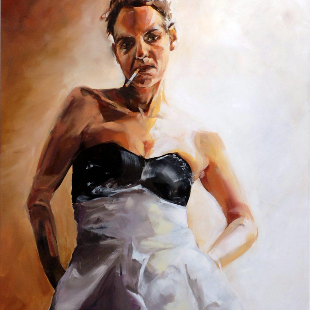 """Nicola Schmid, """"La Mariée"""", 2017"""