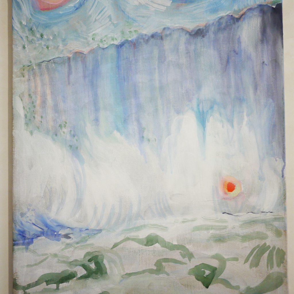 "Yayoï Gunji, ""Niagara Falls"", 2019"