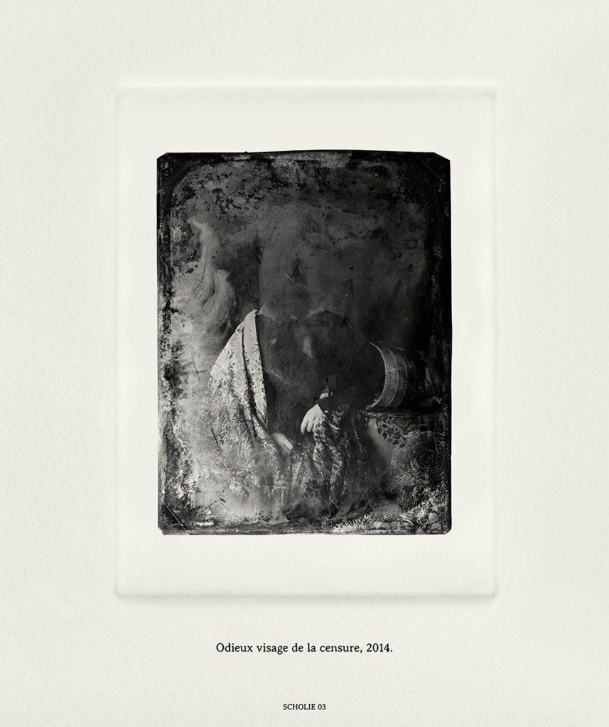 """Marcel Bataillard, """"Odieux Visage De La Censure"""", 2014"""