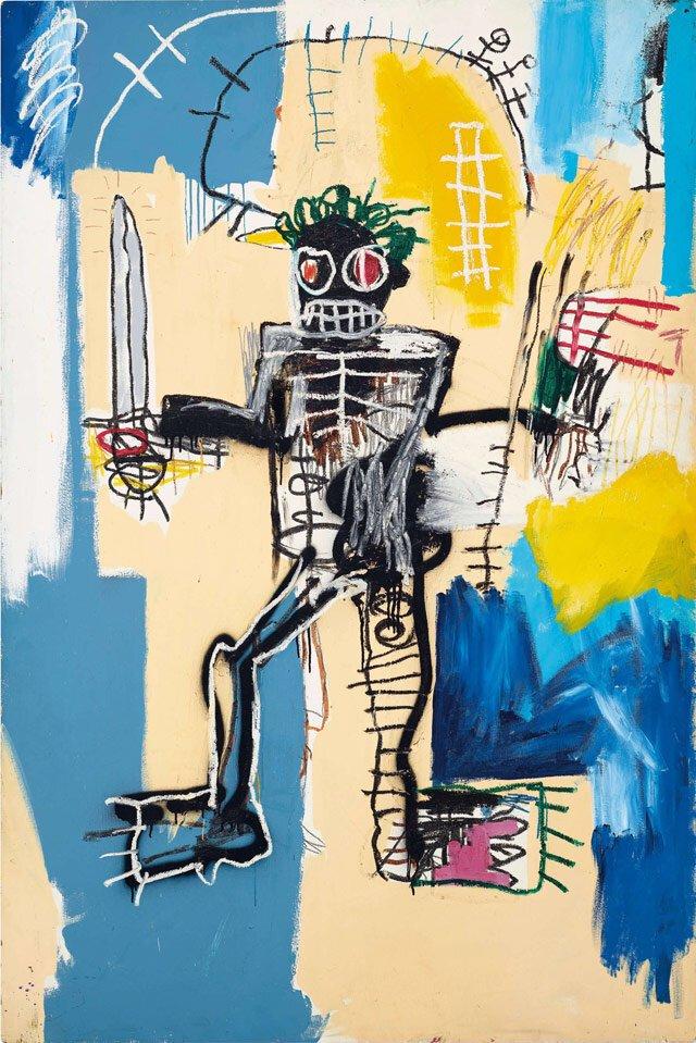 « Guerrier » De Jean-Michel Basquiat : à La Hauteur Des Attentes