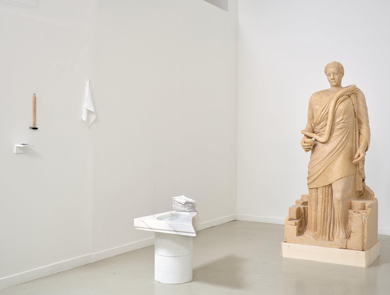 """Frédérique NALBANDIAN """"Hygie Et Panacée"""" 2021 Exposition Galerie Eva Vautier"""